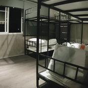 ห้องนอนสไตล์โฮสเทล สำหรับสมาชิกในวง