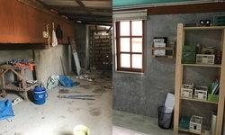 รีโนเวทห้องครัวเก่าเป็นห้องทำงานเล็กๆ ออกแบบพื้นที่สำหรับการเริ่มต้นธุรกิจครัวเรือน