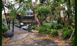 จัดสวนทรอปิคอล ยกบรรยากาศของป่าเมืองร้อนมาไว้ในสวนอาหาร
