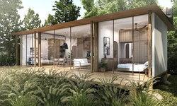 """""""ฌ เฌอ"""" แบบบ้านไม้สำเร็จรูป ดีไซน์กะทัดรัด ออกแบบภายใต้แนวคิดการใช้ชีวิตคู่กับธรรมชาติ"""