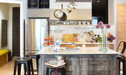 รวมแบบครัวสวยๆ สำหรับบ้านที่มีขนาดพื้นที่เล็ก กลาง ใหญ่ มีไอส์แลนด์ตรงกลาง เพิ่มฟังก์ชันใช้งานได้มากขึ้น