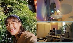 """""""เอิ๊ต ภัทรวี"""" ใช้เวลาช่วงอยู่บ้าน จัดมุมเกาหลีในห้องนอน ปรับห้องทำงานใหม่"""