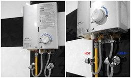 รีวิวเครื่องทำน้ำร้อนระบบแก๊ส ไม่ได้น่ากลัวอย่างที่คิด จากประสบกาณ์ใช้งานมา 1ปีเต็ม