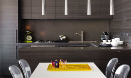 5 เทคนิคแต่งห้องครัวด้วยสีโทนเข้ม