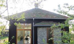 แบบบ้านกระท่อมหลังเล็ก สไตล์สแกนดิเนเวียน พร้อมแปลนบ้าน