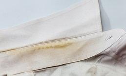 3 วิธีจัดการคราบเหลืองบนผ้าขาว ทำอย่างไรให้กลับมาแจ่ม