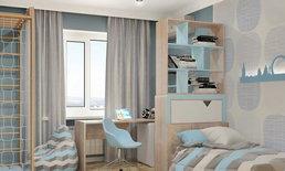สีสวยและสดใสไปกับห้องนอนสำหรับวัยรุ่น