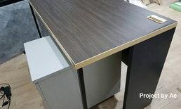 """แชร์วิธีซ่อมแซม""""โต๊ะไม้อัดพองตัว""""  ด้วยกระดาษสติกเกอร์ ขั้นตอนง่ายๆ ในต้นทุนสุดประหยัด"""