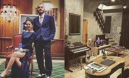 """เปิดบ้าน 'วิทย์ เอเอฟ' ตกแต่งสไตล์ลอฟท์ดิบ เท่ สุดพิถีพิถัน เพราะ """"ผมรักบ้าน"""""""