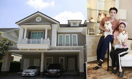 """เรือนหอ 40 ล้าน """"ฟลุค-แอปเปิ้ล""""บ้านที่กำลังประกาศขาย เพราะตั้งใจซื้อบ้านใหม่"""