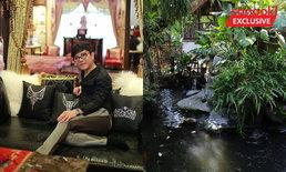 """""""ฮวงจุ้ยบ้านคุณชูชัย"""" มหาเศรษฐีร้านเพชร ขวาไฟ ซ้ายน้ำ ร่มรื่น รวย เฮงไม่เลิก"""