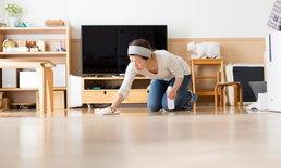 เคล็ดไม่ลับ เทคนิคการทำความสะอาดพื้นบ้าน ให้สะอาดเหมือนพื้นบ้านใหม่ๆ