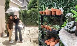"""เปิดสไตล์สวนนีโอคลาสสิกของนักจัดสวนที่กำลังจัดสวนให้กับ """"ขวัญ อุษามณี"""""""