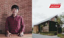 """""""ลี-อายุ จือปา"""" หนุ่มอาข่าปรับที่ดินเชียงใหม่ 5 ไร่ เป็นร้านกาแฟ โรงคั่วเพื่อสังคม"""