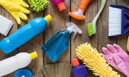 7 อุปกรณ์ทำความสะอาด ที่ทุกบ้านจำเป็นต้องมี