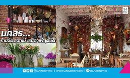 """เคาะประตูดูไอเดียการแต่ง """"ร้านนภสร"""" ร้านจัดดอกไม้ ที่เป็นทั้งคาเฟ่และบ้านอันอบอุ่น"""