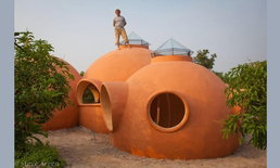 ชมไอเดียหนุ่มฝรั่งที่สร้างบ้านสุดอาร์ตในเมืองไทย ด้วยงบประมาณ 9,000 ดอลลาร์