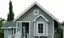 แบบบ้านคอทเทจสไตล์ (Cottage Style) หลังเล็กราคา 295,000 บาท