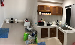 รีวิวต่อเติมห้องครัวรูปทรงตัวแอลขนาดเล็ก สวยในงบ 3 หมื่นบาท