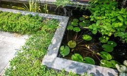 ตกแต่งสวนด้วยน้ำพุ เคล็ดลับดีๆ คู่สวนสวย
