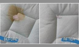 """ง่ายกว่าที่คิด! วิธีทำความสะอาด """"คราบเลือดบนฟูกที่นอน"""" ภายในเวลาแค่ 2 นาที"""