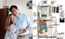 """แบบห้องใหม่ """"ซาร่า โฮเลอร์"""" สะท้อนตัวตน เน้นความสดใส ใส่ความเป็นคาเฟ่"""