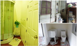 ทำห้องน้ำแบบคุณนายๆ บนบ้าน(ไม้)ให้แม่...ห้องเก็บของรกๆจะแปลงร่างเป็นห้องน้ำคุณนายได้แค่ไหนมาดูกันค่ะ