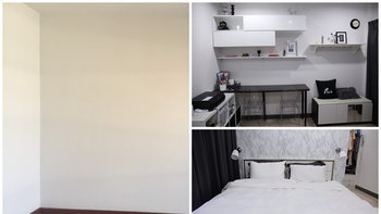 แต่งห้องแบบสาวของเยอะสุดท้ายได้ทั้ง Walk in Closet  โต๊ะทำงาน และสตูดิโอ