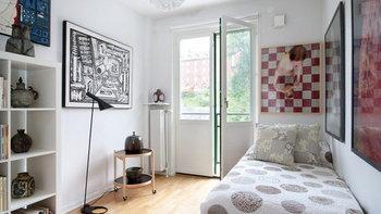 ไอเดียการแต่งห้องนอนขนาดเล็กให้ดูมีพื้นที่มากขึ้นกว่า 30 แบบ