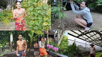 รวมบ้านสวนคนดัง ชีวิตเบื้องหลังแบบใกล้ชิดธรรมชาติ