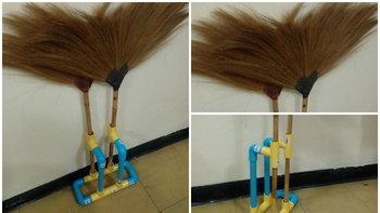DIY ขำๆ ที่วางไม้กวาดเคลื่อนที่งบ 100 บาท สะอาดถึงชาติหน้า!!