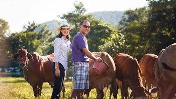 """แหม่ม คัทลียา-บีบี๋ เนรมิตที่ดินเชียงราย 30 ไร่เป็น """"สิรินทร์ฟาร์ม"""" ฟาร์มเพื่อสุขภาพ"""