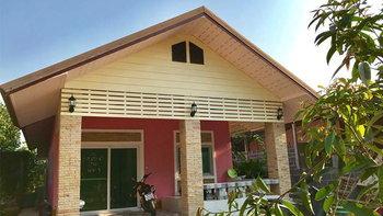 สร้างบ้านชั้นเดียว 2 ห้องนอน 1 ห้องน้ำ 1 ห้องครัว และห้องรับแขก เบ็ดเสร็จ 4.7แสนบาท