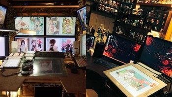 ลองมาดูโต๊ะทำงานของนักวาดการ์ตูนญี่ปุ่นกัน