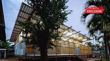 """ห้องเรียน (แผ่นดิน) ไหวอยู่ """"โรงเรียนบ้านหนองบัว"""" สถาปัตยกรรมดีเด่นแห่งปี ใช้ความเรียบง่ายเป็นหลัก"""