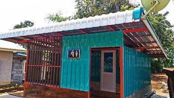 """แชร์ไอเดีย """"ต่อเติมห้องน้ำส่วนตัว"""" ออกแบบเรียบง่าย ใช้งานสะดวกสบาย งบ 60,000 บาท"""