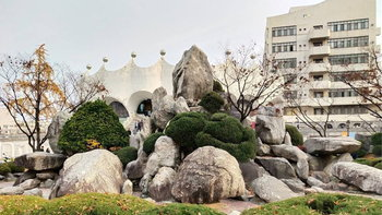 การจัดสวนผสานงานสถาปัตยกรรมในเกาหลี