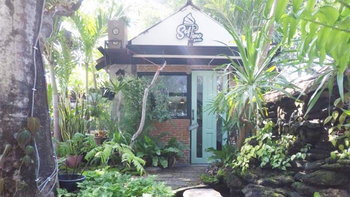 Softime in Garden คาเฟ่ในบ้านหลังน้อย กลางสวนป่าทรอปิคอล