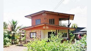 แบบบ้านครึ่งปูนครึ่งไม้สไตล์ชนบท 3 ห้องนอน 1 ห้องน้ำ เข้ากับสภาพแวดล้อมแสนสบายของชนบท