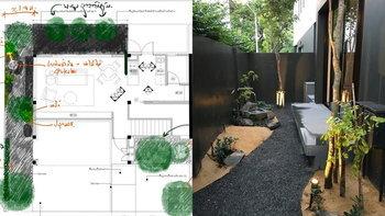 """เปลี่ยนพื้นที่ข้างบ้านให้กลายเป็น """"สวนสไตล์ญี่ปุ่น"""" ชื่นใจไปกับบรรยากาศที่สงบและร่มรื่น"""