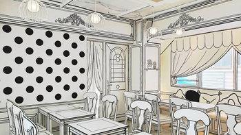 """เทพนิยายไม่ไกลเกิน """"2D Cafe"""" คาเฟ่ดีไซน์สไตล์โลกการ์ตูนในโตเกียว"""