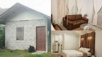 เนรมิตกระท่อมปูนหลังเก่า ให้กลายเป็นบ้านแนวรีสอร์ท กับงบประมาณเพียง 250,000 บาท