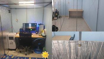 "DIY สุดเจ๋ง ""ห้องทำงานและห้องนอนเย็นเจี๊ยบ"" ดีไซน์กะทัดรัด อยู่ได้ทุกสภาพอาคาร ทั้งบ้านและหอพัก ราคาไม่แพง"