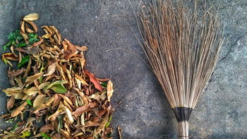 ไม้กวาดทางมะพร้าว ใช้อย่างไรให้อยู่นาน พร้อมวิธีทำด้วยตัวเอง