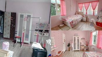 รีโนเวทห้องไม้บ้านเก่า เป็นห้องนอนโทนสีชมพูแสนหวาน สุดมุ้งมิ้งด้วยงบเพียง 2 หมื่น