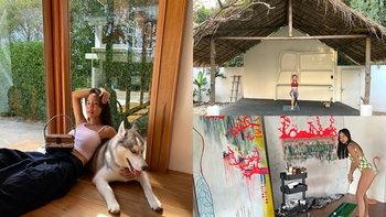 """""""บ้านนท เดอะสตาร์"""" ที่เชียงใหม่ บ้านที่ตกแต่งได้อบอุ่น มีอาร์ต สตูดิโอส่วนตัว"""