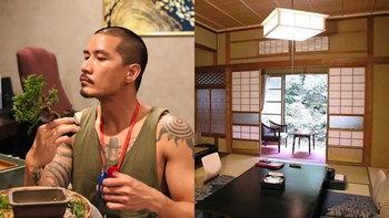 """""""แบงค์ วงแคลช"""" สร้างห้องสไตล์ญี่ปุ่นชมสวนบอนไซในบ้าน พร้อมเปิดเพจ และอินสตาแกรมสวนโดยเฉพาะ"""