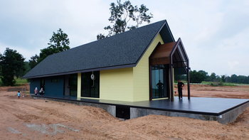 บ้านเล็กกลางธรรมชาติ...ดีไซน์เท่จากโครงเหล็ก