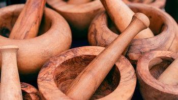วิธีกำจัดเชื้อราในครกไม้ ทำง่ายด้วยของใช้ในครัว