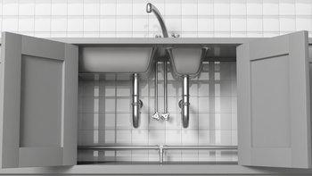 วิธีจัดของใต้ซิงก์ล้างจาน หยุดหมก แต่ต้องจัดให้เป็นระเบียบ